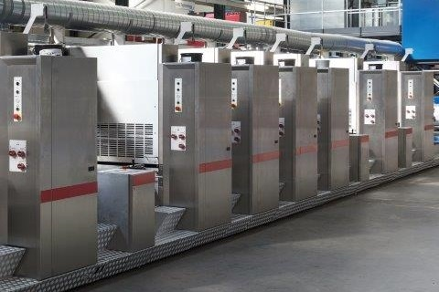 Contiweb Thallo web offset printing system for flexible packaging and labels