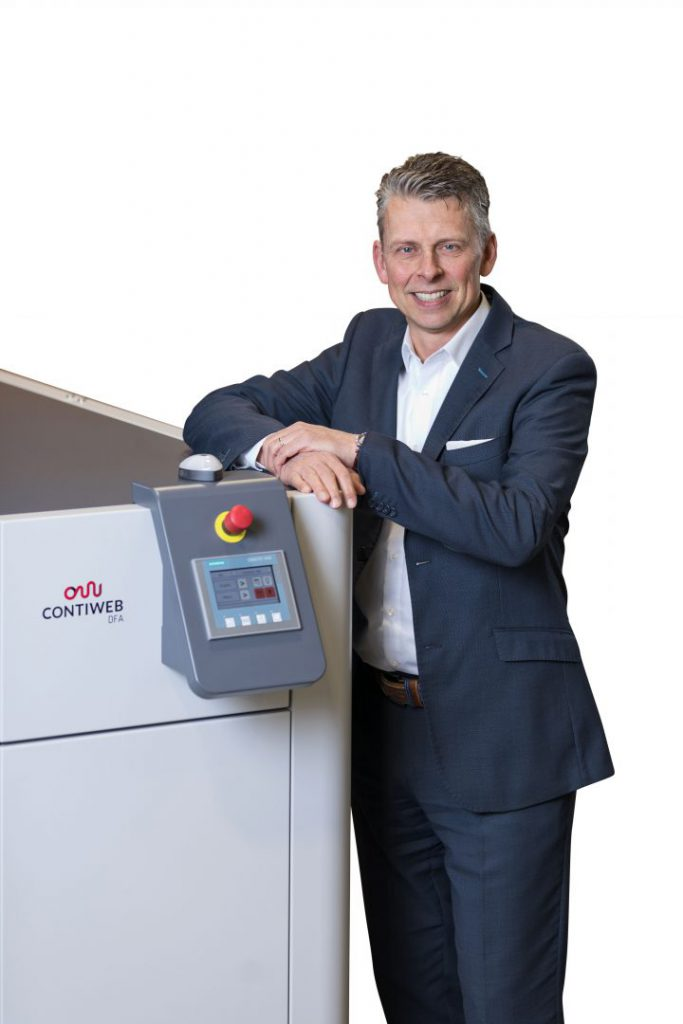 Rob Bosman explains why remoistening is important in digital web inkjet printing